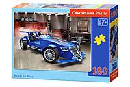 Пазлы «Гоночная машина», 180 элементов, В-018406, магазин игрушек