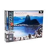 Пазлы «Гора Пан-ди-Асукар, Бразилия» 500 элементов, C500-12-01, отзывы