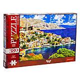 Пазлы «Греческие острова» 380 элементов, C380-04-06