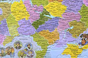 Пазлы «Карта Украины», 1*/2*, отзывы