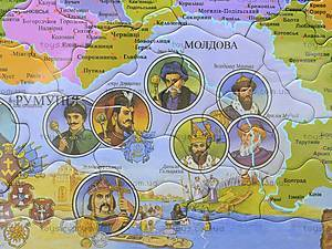 Пазлы «Карта Украины», 1*/2*, цена