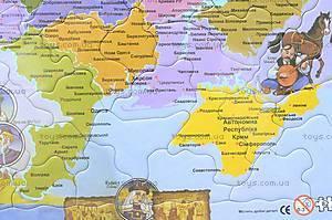 Пазлы «Карта Украины», 1*/2*, игрушки