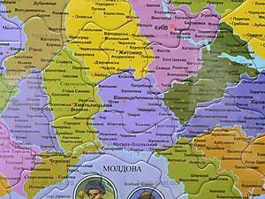 Пазлы «Карта Украины», 1*/2*, детские игрушки