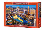 Пазлы «Лас-Вегас» 1500 элементов, C-151882