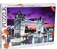Пазлы «Лондон» 1000 элементов, C1000-07-07, отзывы