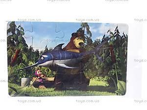 Пазлы магнитные «Маша и Медведь», ММП-001, купить