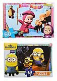 Детский пазл Макси «Мультгерои», 60 элементов, , toys.com.ua
