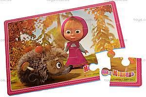 Пазлы «Маша и медведь», VT110301, игрушки