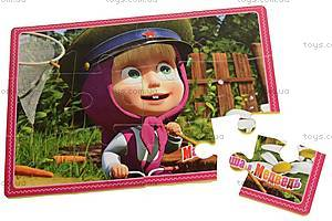 Пазлы «Маша и медведь», VT110301, детские игрушки