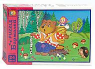 Пазлы «Маша и Медведь» в коробке, 2412, купить