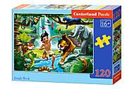 Пазлы «Маугли», 120 элементов, В-13487, купить