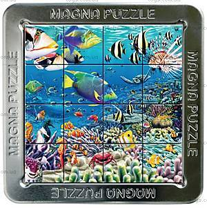 Пазлы «Морские обитатели» магнитные 3D, 16 элементов, 21027