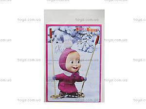 Пазлы мягкие А5 «Маша на коньках», VT1103-04, фото