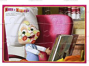 Пазлы мягкие А5 «Маша в маске», VT1103-08, фото