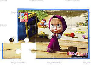 Пазлы мягкие А5 «Маша и медведь», VT1103-30...33, фото