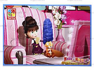 Пазлы мягкие А5 «Маша и медведь», VT1103-30...33, игрушки