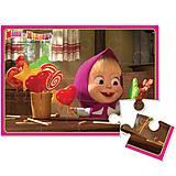 Пазлы мягкие А5 «Маша с конфетами», VT1103-05, фото