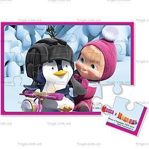 Пазлы мягкие А5 «Маша и пингвин», VT1103-07, купить