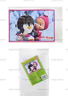 Пазлы мягкие А5 «Маша и пингвин», VT1103-07