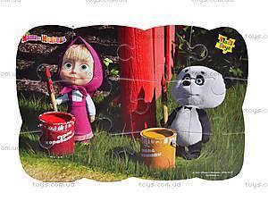 Пазлы на магните «Маша и панда», VT3205-16, фото