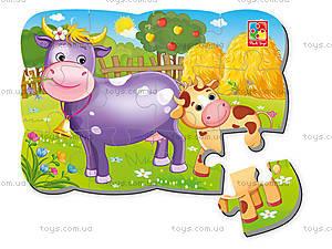 Пазлы на магните «Корова и теленок» - Магнітні пазли в ...