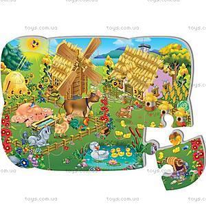 Пазлы на магните «Ферма», VT3205-12, toys.com.ua