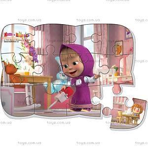 Пазлы на магните «Маша убирает», VT3205-23, игрушки