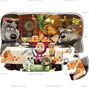 Пазлы на магните «Маша и Медведь», VT3205-14, игрушки