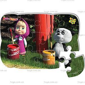 Пазлы на магните «Маша и панда», VT3205-16, игрушки