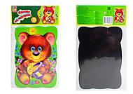 Пазлы на магните «Мишка», VT3205-35, детские игрушки