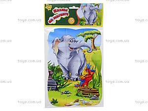 Пазлы магнитные «Слон и попугай», VT3205-12, магазин игрушек