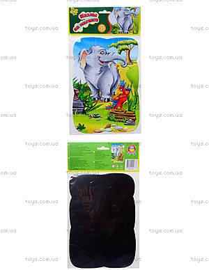Пазлы магнитные «Слон и попугай», VT3205-12, toys