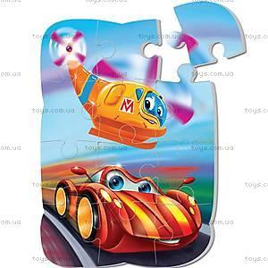 Пазлы на магните «Тачки» , VT3205-10, магазин игрушек