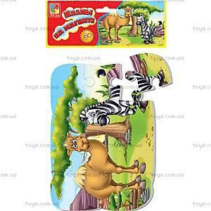 Пазлы на магните «Зоопарк», VT3205-13, детские игрушки