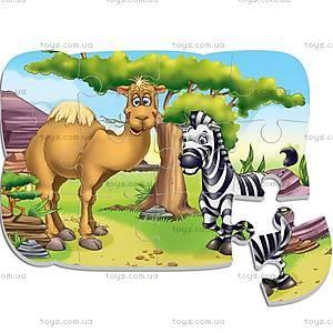 Пазлы на магните «Зоопарк», VT3205-13, toys.com.ua