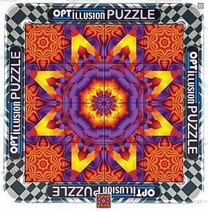 Пазлы оптические «Орнамент», 16 элементов, СТ-213-1