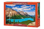 """Пазлы """"Озеро Пейто, Канада"""", 500 элементов, В-53056, отзывы"""