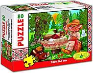 Пазлы «Пан Котский» 80 элементов , 86805, магазин игрушек