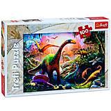 """Пазлы """"Планета динозавров"""" 100 эл, 16277, отзывы"""