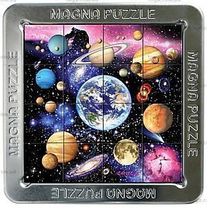 Пазлы «Планеты» магнитные 3D, 16 элементов, 21171