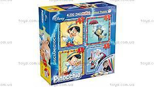 Двухсторонний пазл Baby Zigzac «Пиноккио», 40698C
