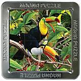 Пазлы «Попугаи» магнитные 3D, 16 элементов, 21218, Украина