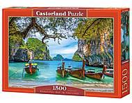"""Пазлы """"Прекрасная бухта в Таиланде"""" 1500 элементов, C-151936, отзывы"""