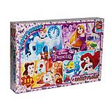 """Пазлы """"Принцессы Диснея: Золушка, Ариэль, Рапунцель и Белль"""", 117 элементов, PD69, игрушки"""