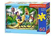 Пазлы «Рапунцель», 60 элементов, В-066124, игрушки