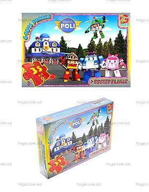 Пазлы «Робокар Поли» для детей, RR067431