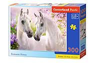 Пазлы «Романтические лошади» 300 элементов , B-030378, фото