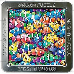 Пазлы «Рыба-клоун» магнитные 3D, 16 элементов, 21010