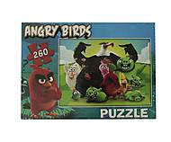 Пазлы с Angry Birds, 260 элементов, ANG, оптом