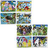 Пазлы с разными картинками и героями, 0431